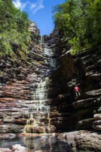 Cachoeira dos Cristais, em Andaraí | Foto: Caiã Pires