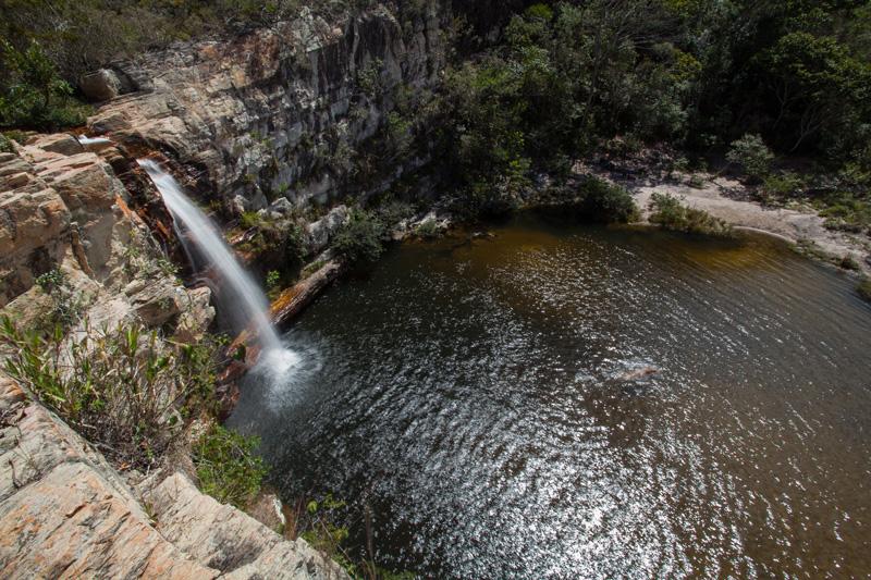 Cachoeira do Cochó vista de cima. | Foto: Açony Santos