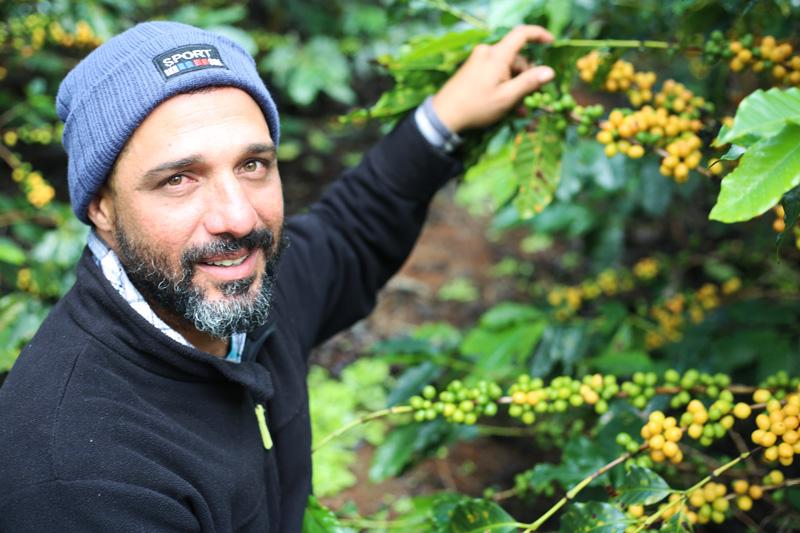 Produtor Teo da Fazenda Rancho da Tapera | Foto: Juca Badaró