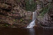 Cachoeira da Purificação, no Vale do Capão | Foto: Via Pati