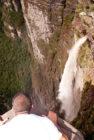 Mirante da Cachoeira da Fumaça, no Vale do Capão | Foto: Via Pati