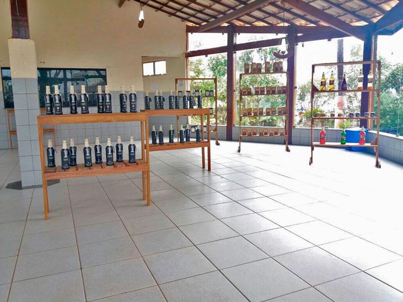 Centro de Atendimento ao Turista (CAT), em Ibicoara/BA.